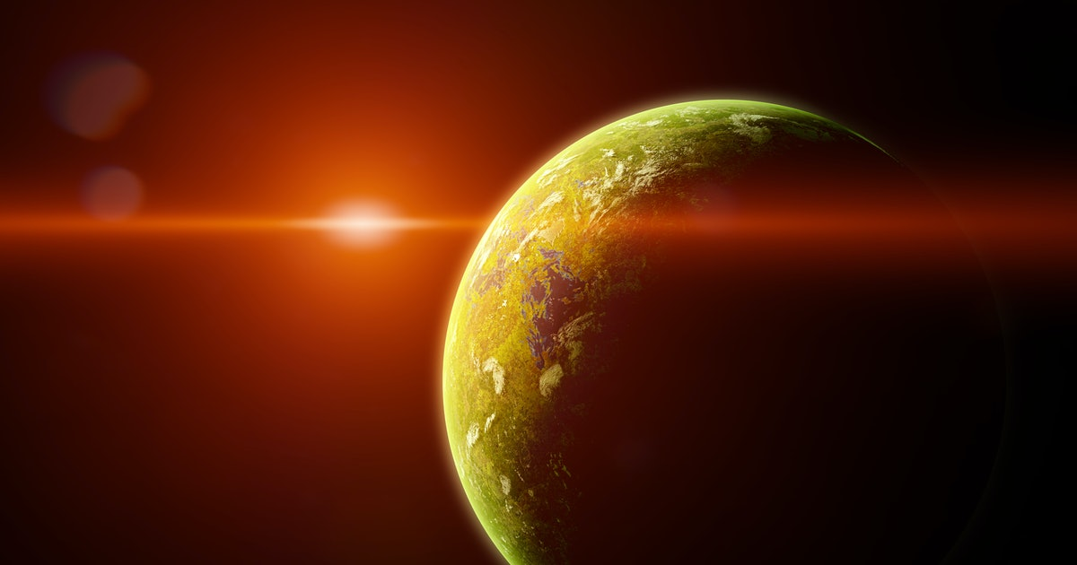 Scientists discover exoplanet with water vapor in the atmosphere, which could mean it's habitable