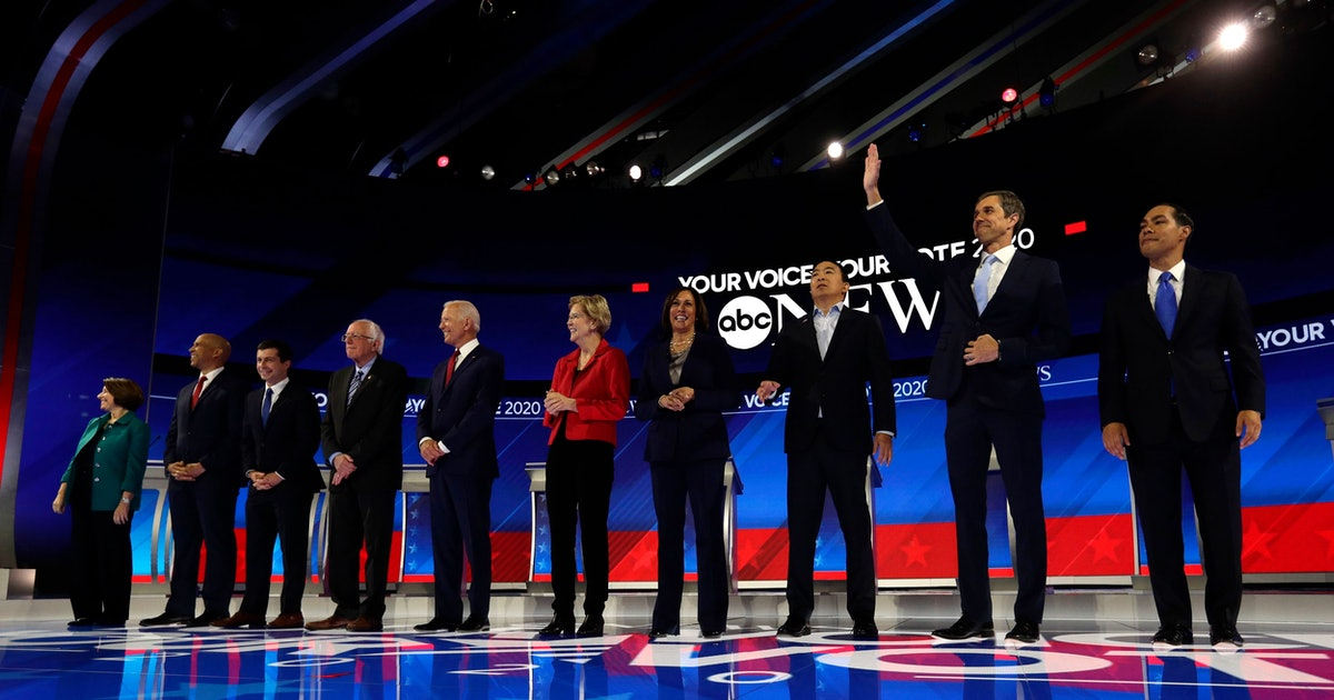 Third Democratic debate: Who won, who did just enough, and who fell short