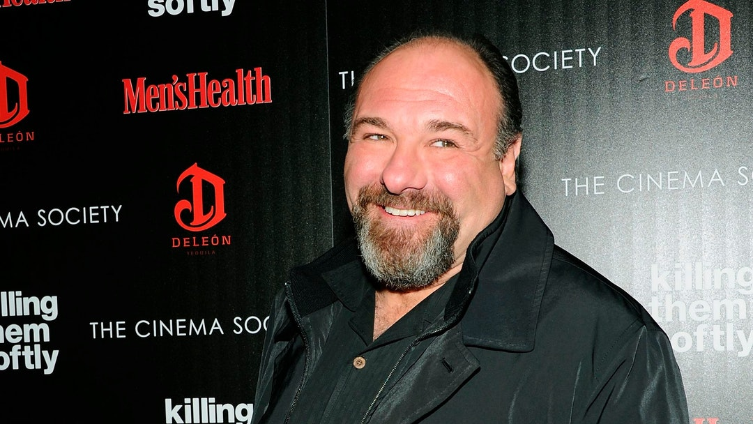 "Actor James Gandolfini attends a special screening of ""Killing Them Softly"" hosted by The Cinema Society, Men's Health and DeLeon at the SVA Theater in New York. Emmy organizers say the awards ceremony will include five special memorial tributes, including Cory Monteith and James Gandolfini. Edie Falco will honor Gandolfini, her co-star on ""The Sopranos,"" at Sunday's ceremony, the TV academy said"