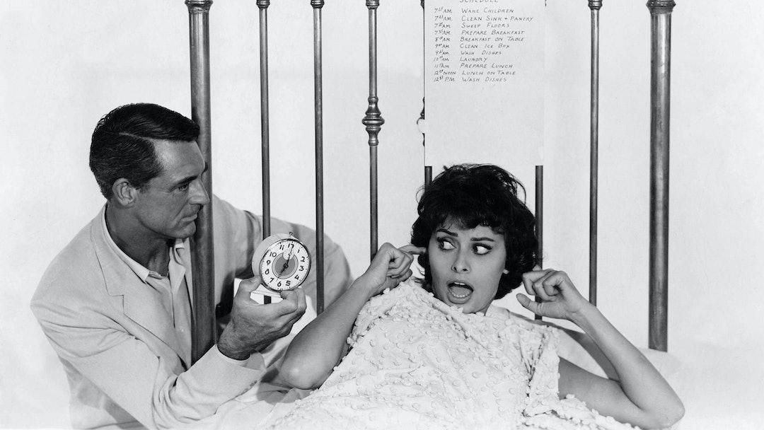 Cary Grant, Sophia Loren