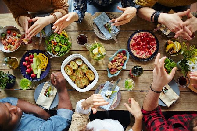 Dinner of friends