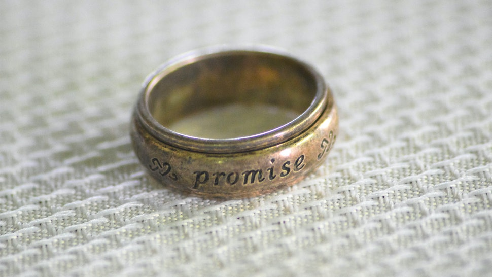 with this ring I  promise to love you