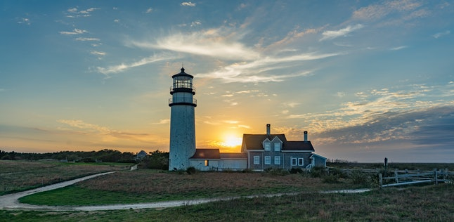 Highland Light, Cape Cod, Massachusetts