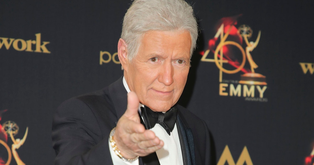 An ode to Alex Trebek, a titan of old-school TV charm
