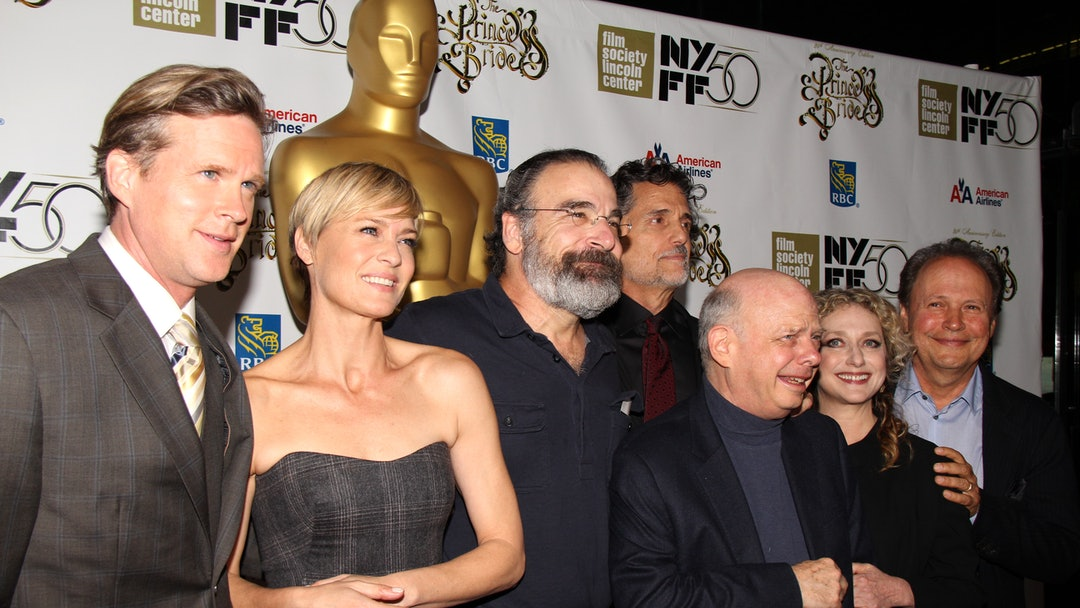 Cary Elwes, Robin Wright Penn, Mandy Patinkin, Chris Sarandon, Wallace Shawn, Carol Kane and Billy Crystal