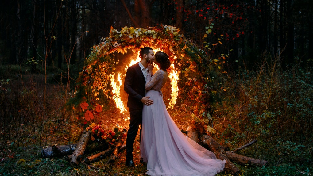 9 Fall Wedding Hashtags To Celebrate Your Apple-y Ever After
