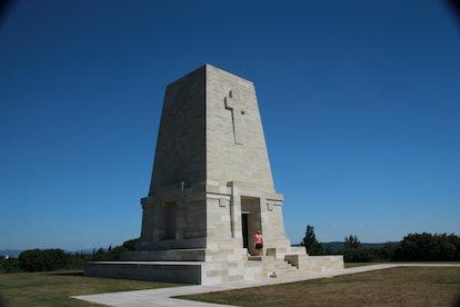 Details of Historical World War 1 sites and memorials, Gallipoli Peninsula, Turkey