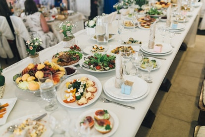 Wedding sweet table