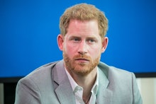 Prince Harry attends an event to announce a new partnership between Booking.com, SkyScanner, CTrip, ...