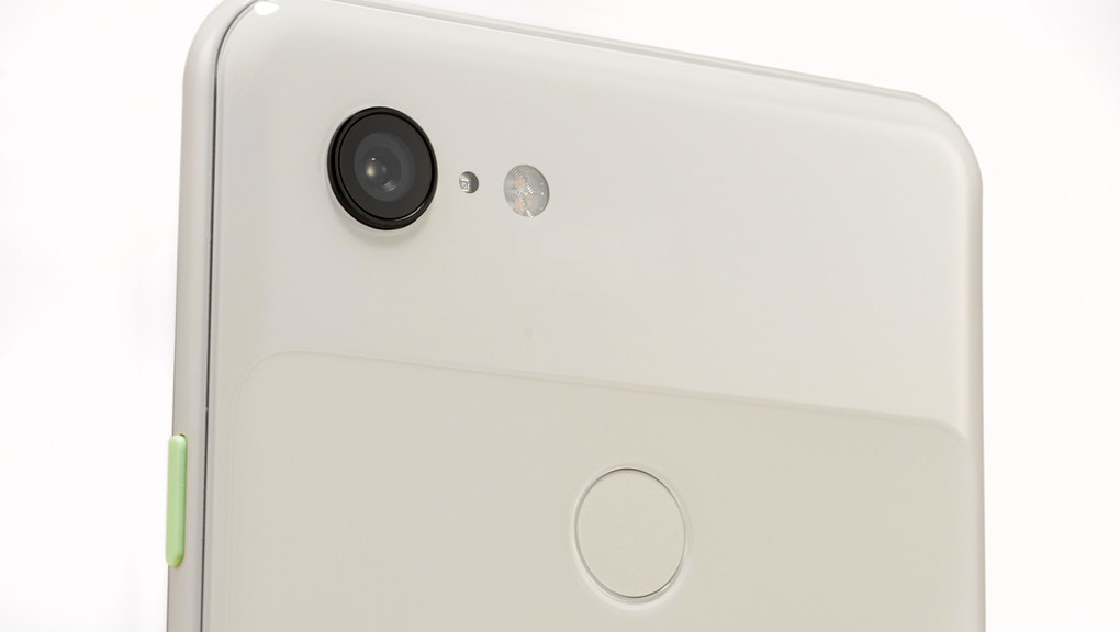 Detail Of The Rear Camera On A Google Pixel 3 Xl Smartphone