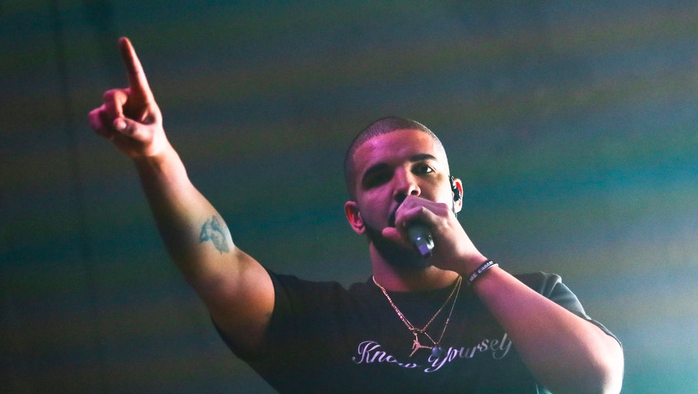 Drake performs at the FADER FORT Presented by Converse during the South by Southwest Music Festival, in Austin, Texas