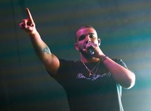 Drake performs at the FADER FORT Presented by Converse during the South by Southwest Music Festival,...