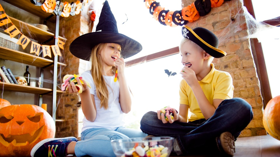 Experts say letting kids enjoy their Halloween candy is better for them than trying to keep sweets away.
