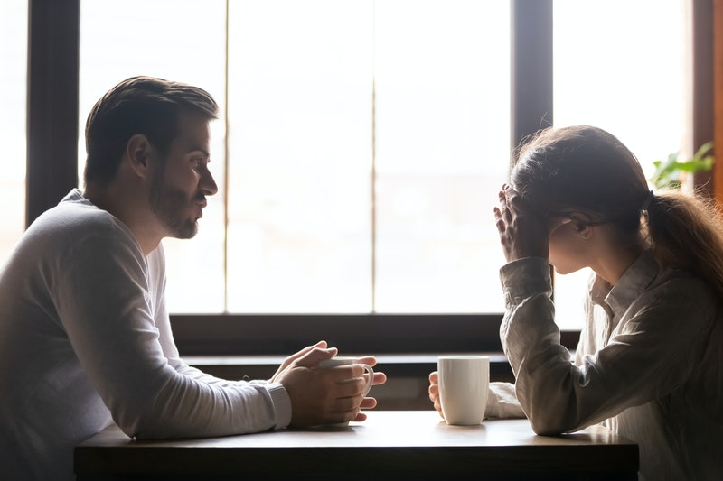 If your partner constantly threatens to leave you, you may want to call it quits to save yourself from emotional ups and downs.
