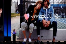 Fidji Simo Head of Facebook Apps introduces Facebook Dating during the keynote F8 Facebook Developer...
