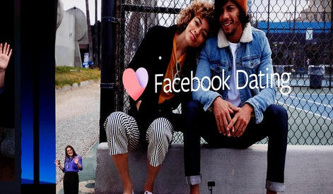 Fidji Simo Head of Facebook Apps introduces Facebook Dating during the keynote F8 Facebook Developer Conference at the McEnery Convention Center in San Jose, California, USA, 30 April 2019.