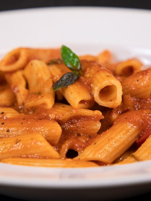 Tasty Penne Pasta in Red Sauce