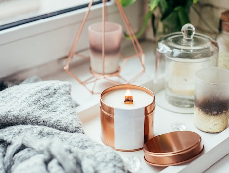 Bring a unique scent into your home with these distinctive fragranced candles