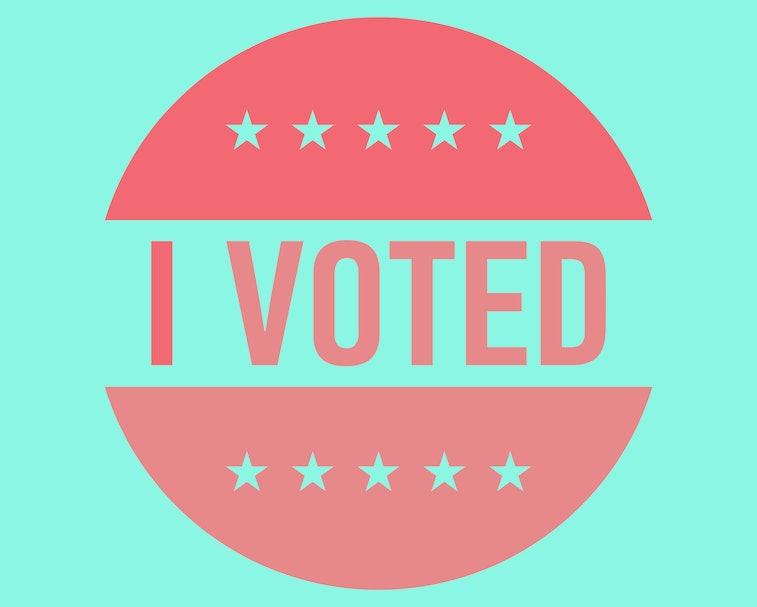 I voted sticker vector