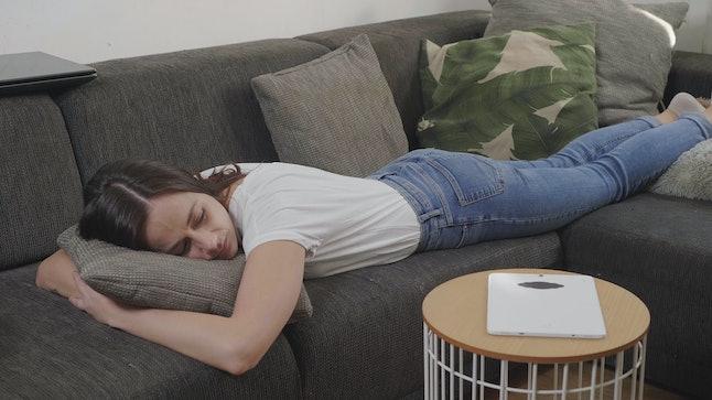 Naps help with sleep hygiene