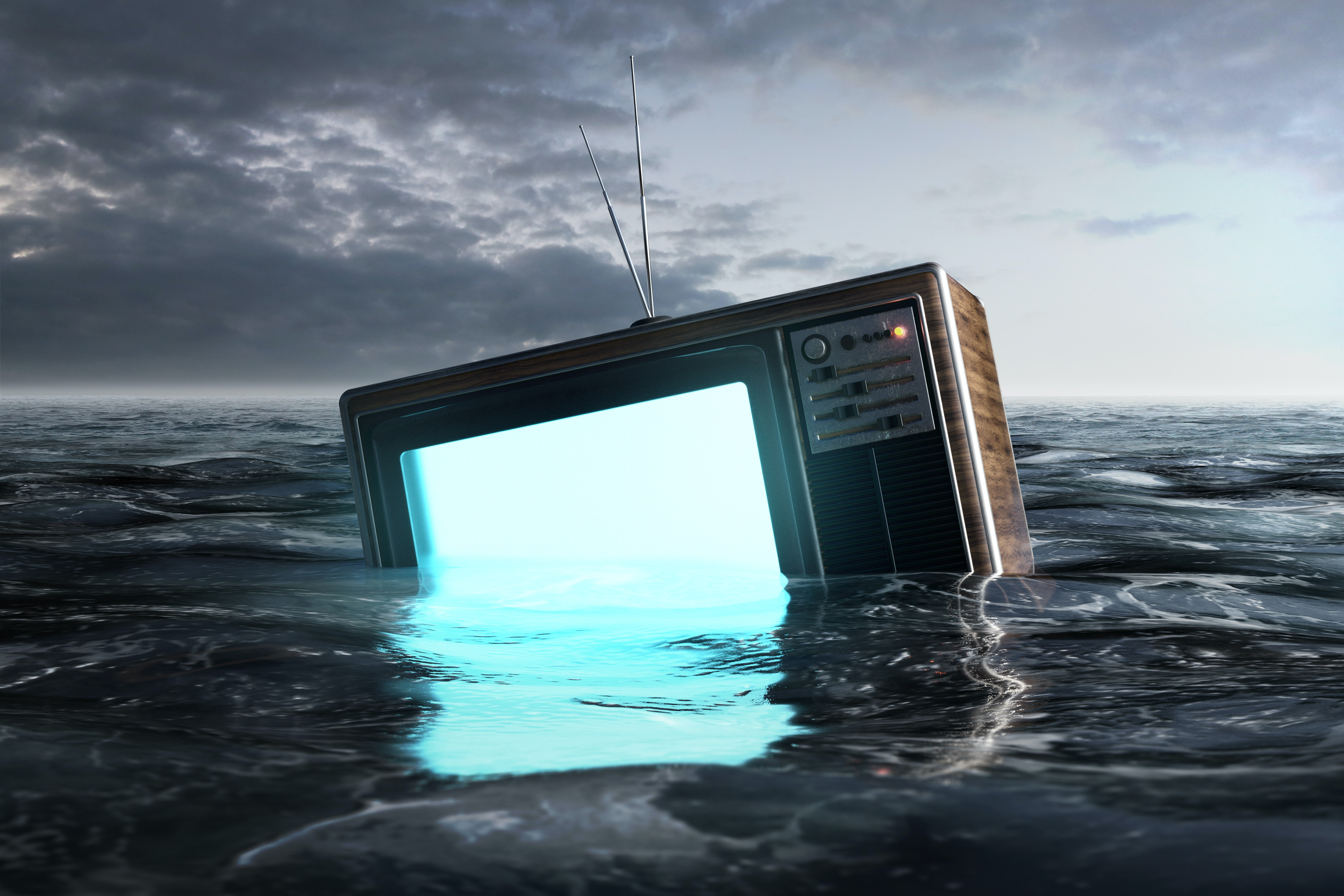 We're drowning in movies and TV shows, and the flood has only begun