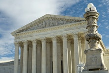The United States Supreme Court is seen in this general view, in Washington, DC
