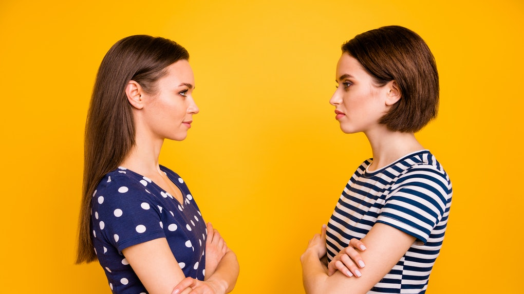The Myers-Briggs personality types who avoid confrontation in relationships tend to be Introverted.