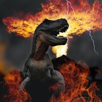 Dinosaurs literally walked on fire —?study
