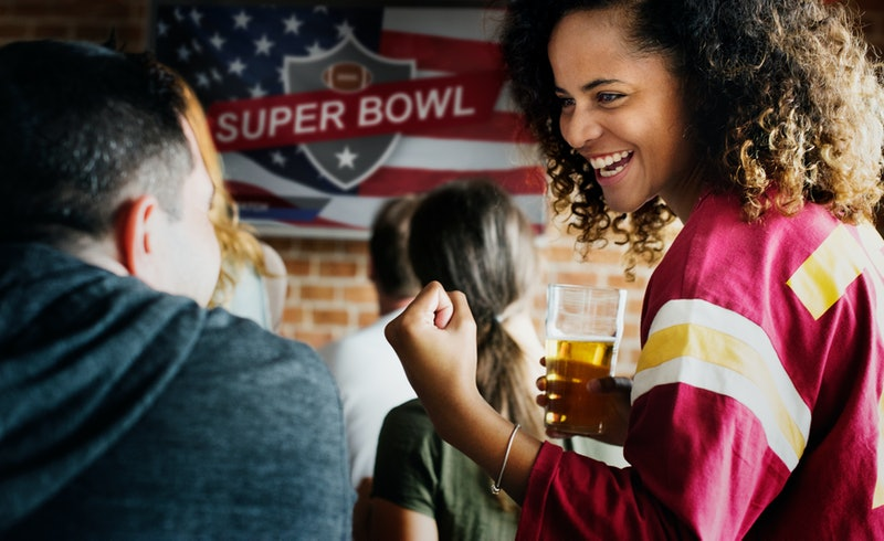 Grubhub's Super Bowl sweepstakes on Twitter could win you free food for your party.