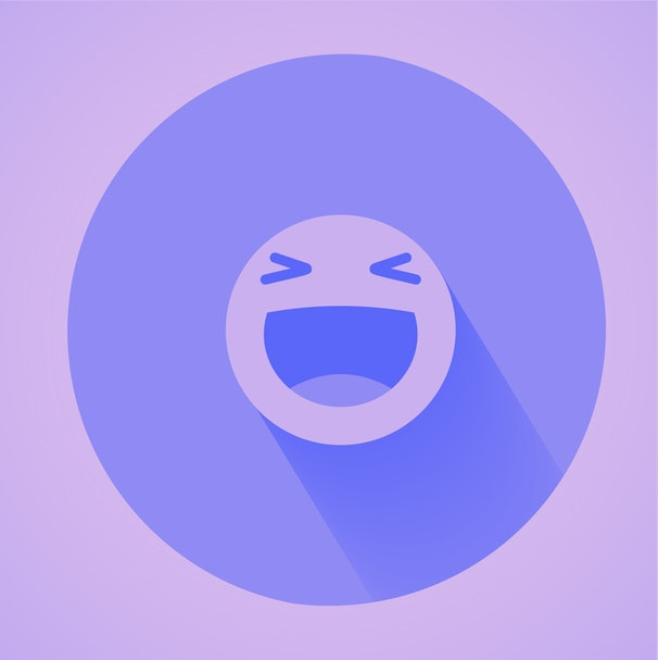 Vector logo. Smile face sign pin icon. Happy smiley chat symbol. Facebook new like.