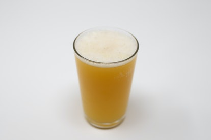 Beer and Orange Juice Beermosas make for a prefect tailgating drink.