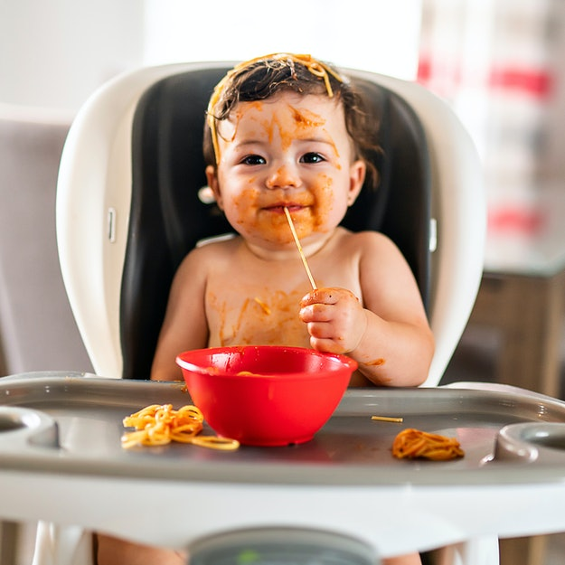 Babies can enjoy noodles as early as 6 months, experts say.