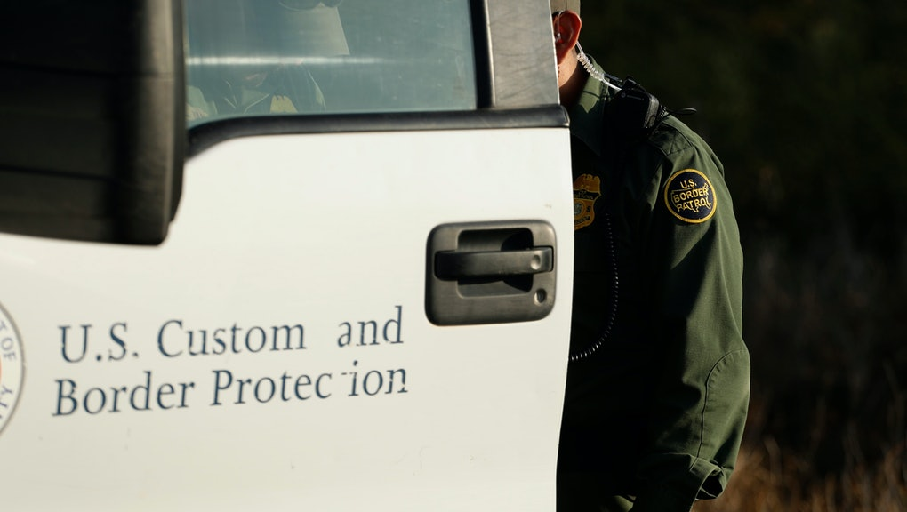 A Border Patrol agent is seen near McAllen, Texas, along the U.S.-Mexico border. In the Rio Grande Valley, the southernmost point of Texas and historically the busiest section for border crossings, the U.S. Border Patrol is apprehending around 300 people daily, down from as many as 2,000 people a day in May