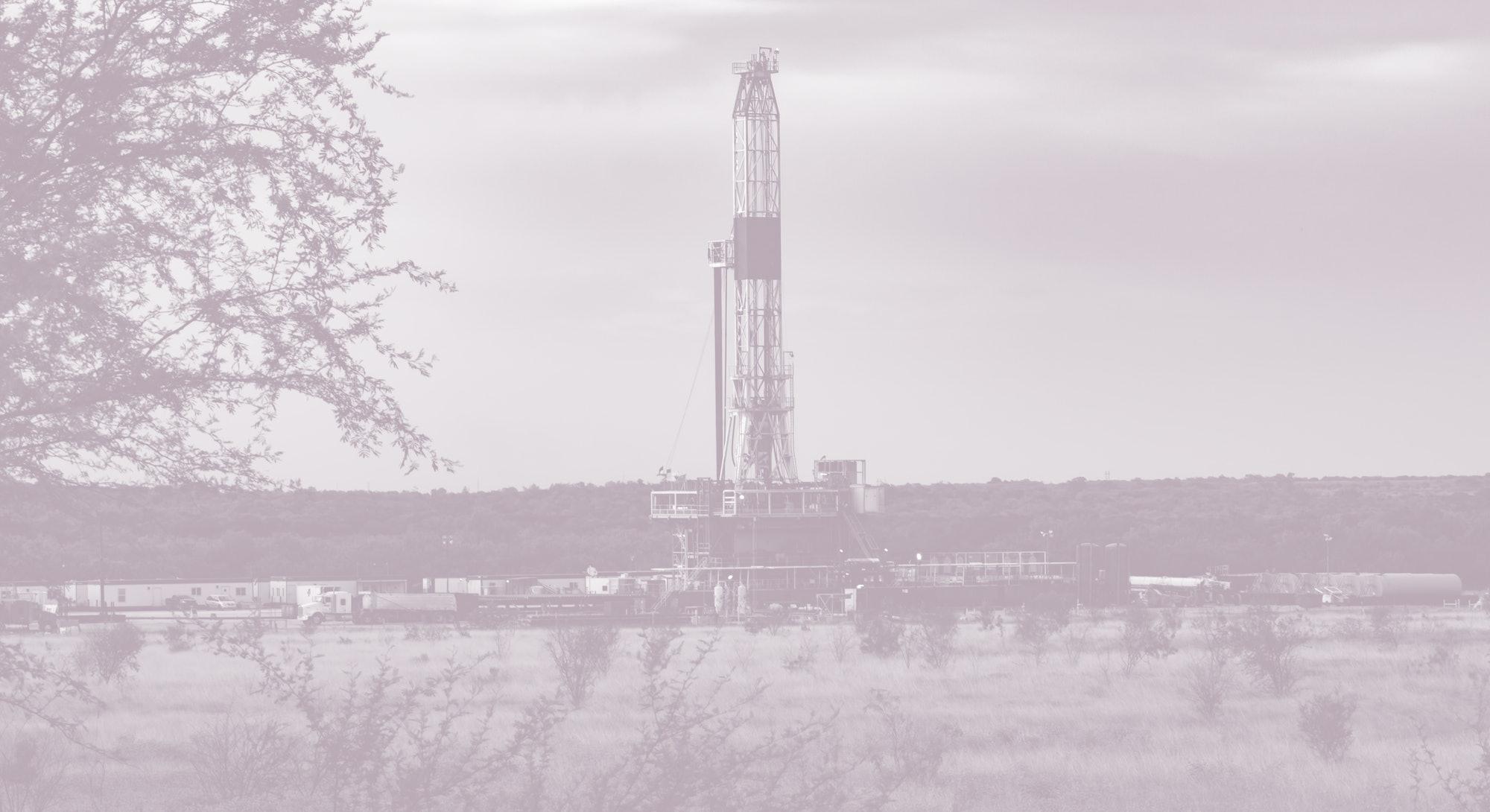 Fracking An American Shale Well