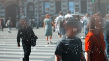 Face recognition and personal identification technologies in street surveillance cameras, law enforc...