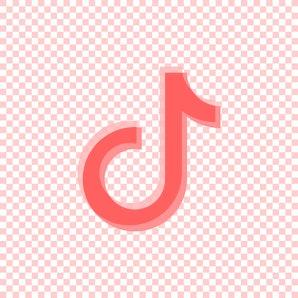 Tik Tok icon.Social media vector.Tik Tok logo design.