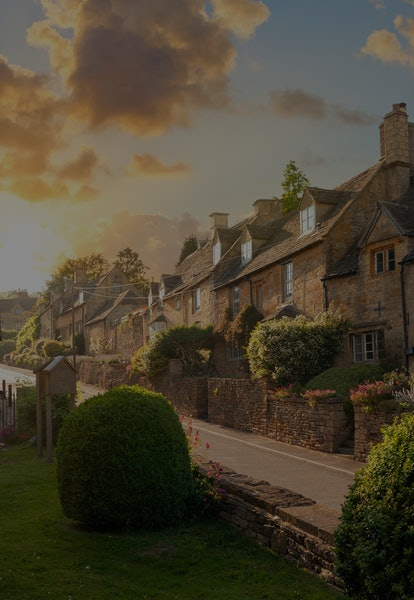 Bourton on the Hill village near Moreton in Marsh, Cotswolds, Gloucestershire, England.