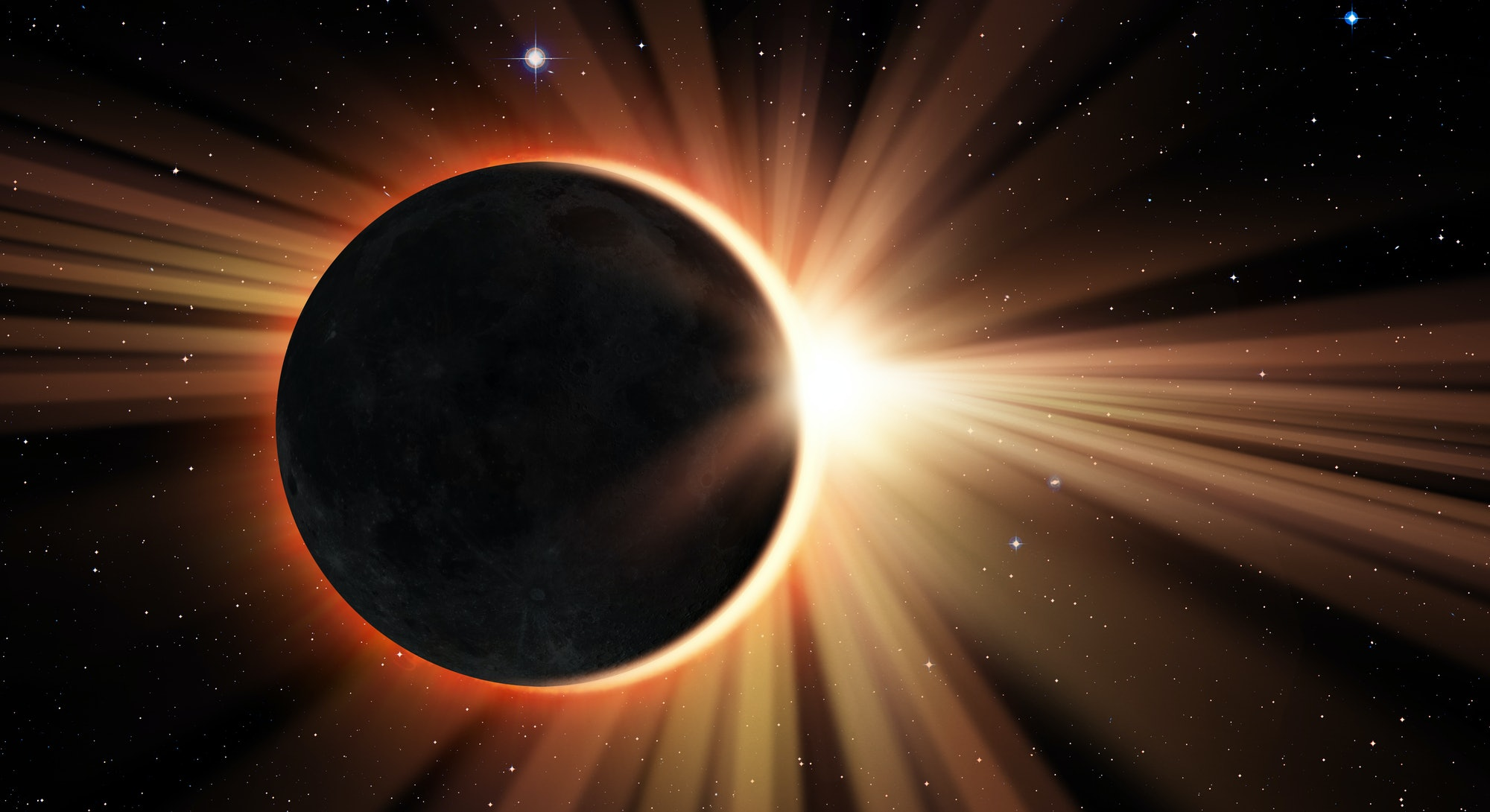 """The June 2021 new moon eclipse forms a rare """"ring of fire"""" in the sky."""