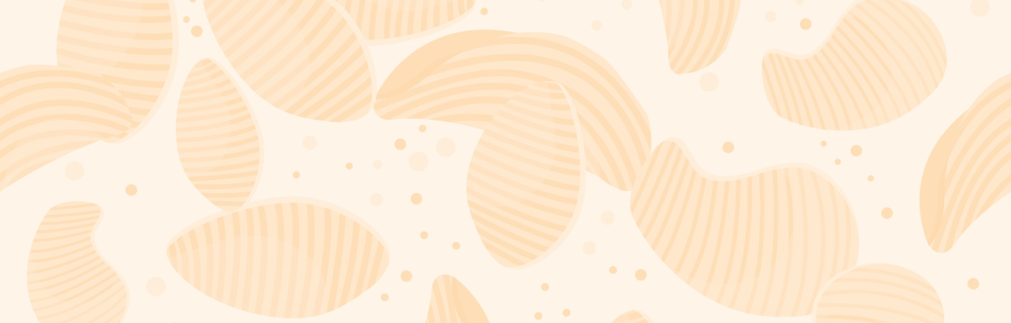 round potato chips seamless pattern