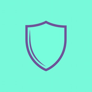 Shield Icon - Vector, Sign and Symbol  for Design, Presentation, Website or Apps Elements.
