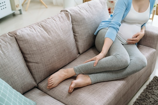 Pregnancy leg cramps can be super painful, but common.