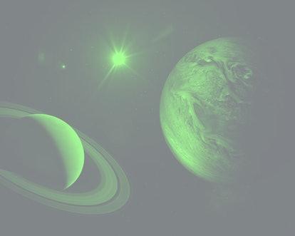 7 planets retrograding in October 2021.