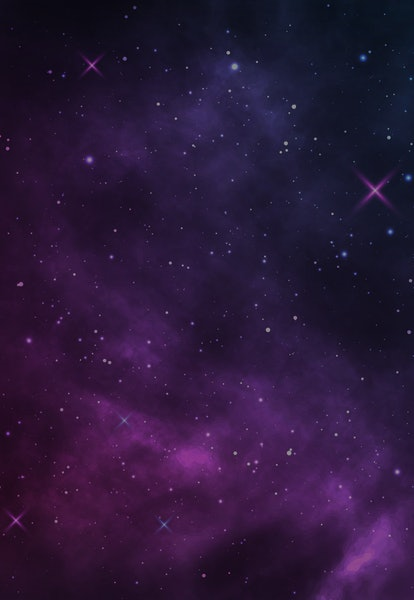 Space background. Realistic starry night. Cosmos and shining stars. Milky way and stardust. Color ga...