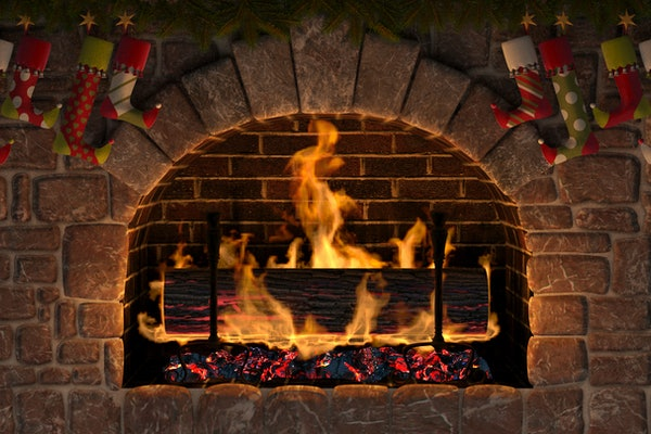 These virtual yule logs to stream include a 'Frozen'-themed stream and more.