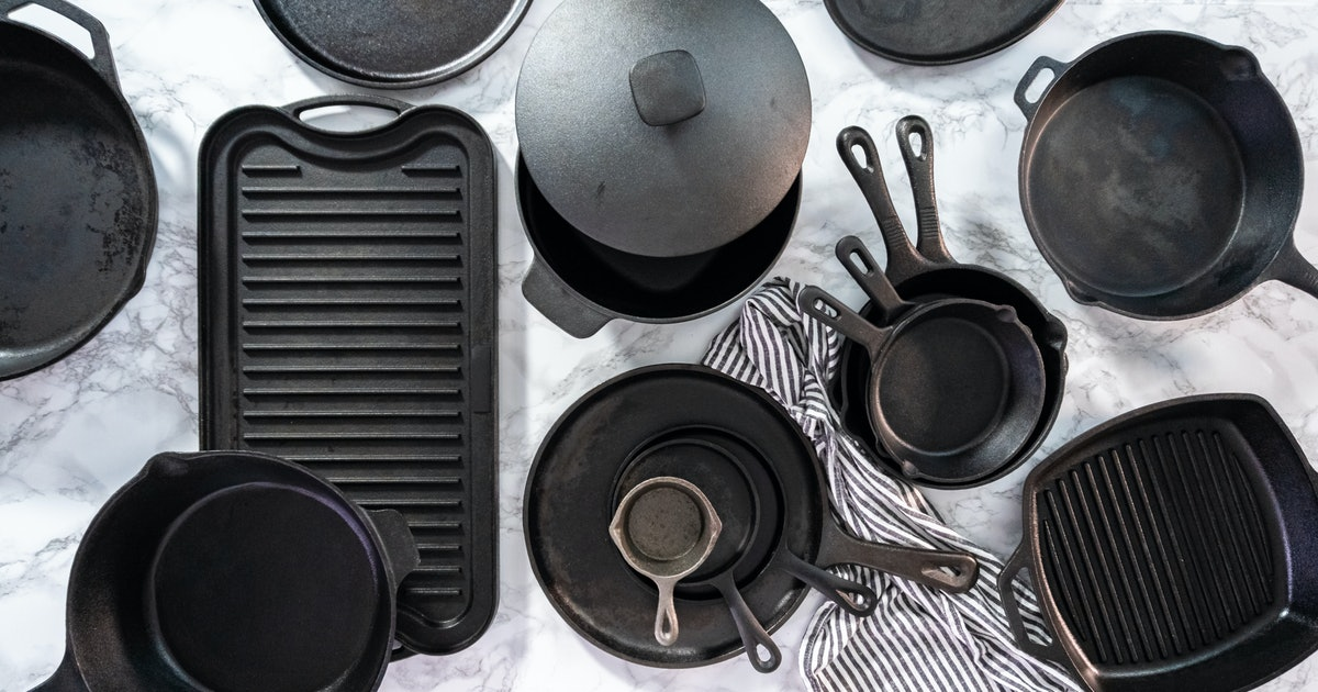 Amazon Reviewers Can't Say Enough About These Cast Iron Griddles — & They're All Under $50