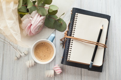 A Valentine's Day gift idea for couples in long distance relationships is a journal they can write a...