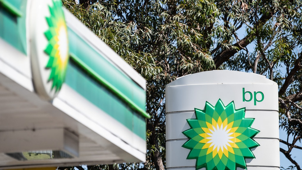 A general view of a BP service station in Sydney, Australia, 02 October 2019. Petrol prices in Sydne...