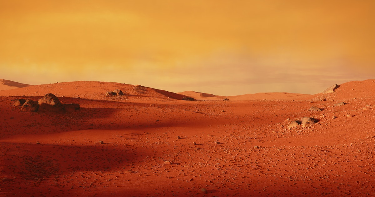Is there life on Mars? Perhaps, underneath it all