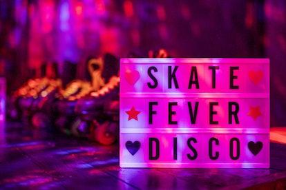 Roller skate disco rental at event