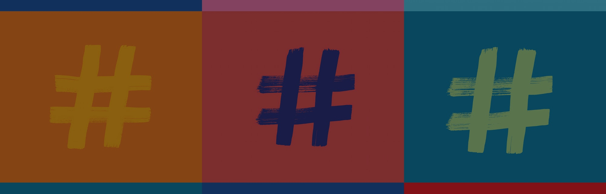 Hashtag Symbol Pattern, Hashtags, Hash tag, Colorful Background, Illustration, Grunge Texture, Internet concepts, instagram, twitter, social media, Online Identity, digital marketing, creativity, Apps